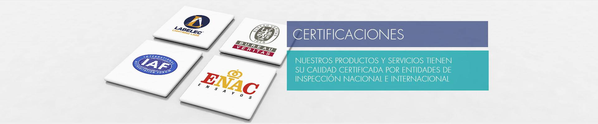 Certificaciones ENAC