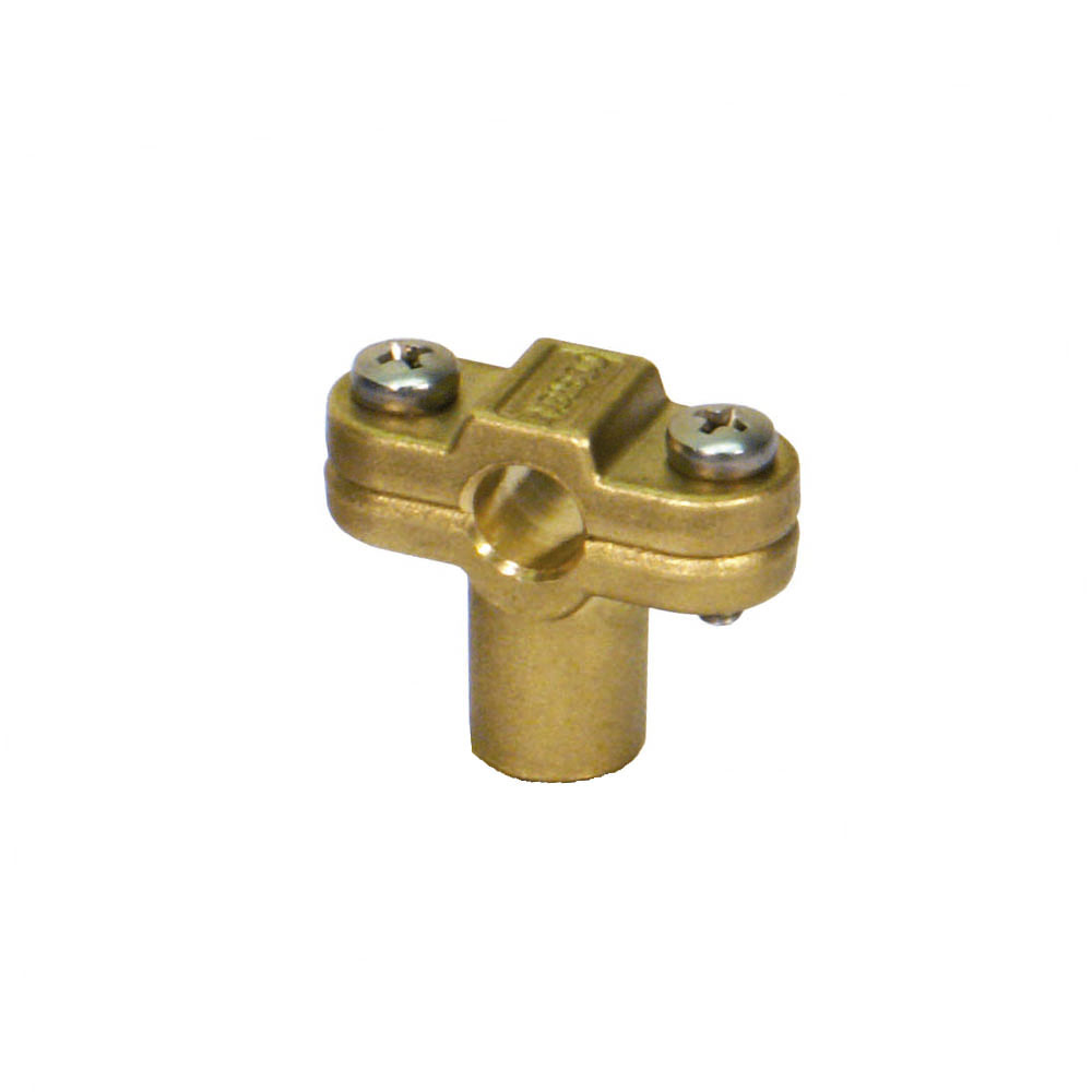 Cu zn brass alloy cable clamp ingesco