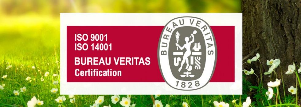 certificación ISO14.001:2015 pararrayos