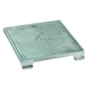 Couvercle et cadre en aluminium
