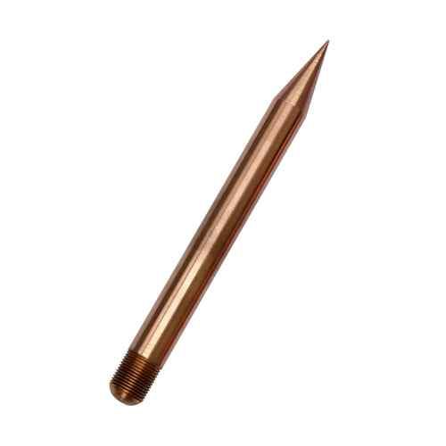 Puntas Franklin simples de cobre