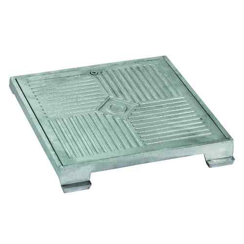 Grounding cases and covers aluminum frame