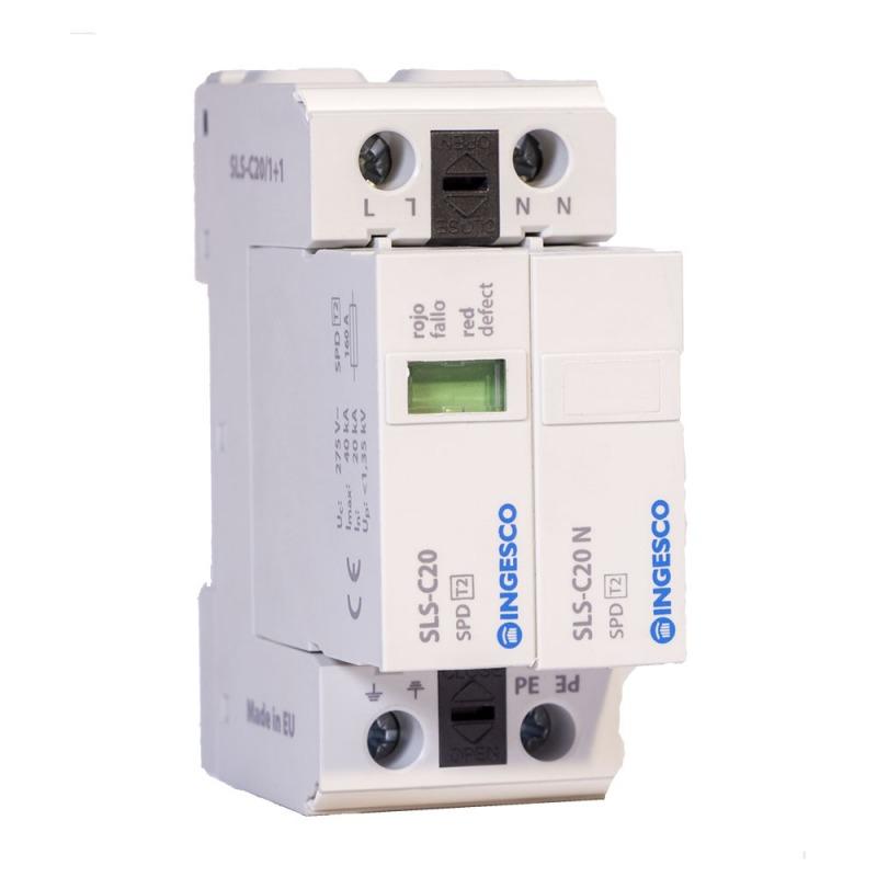 Power line surge protector: SLS-C20 | INGESCO