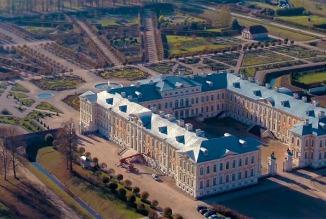 instalación pararrayos rundale palaca letonia